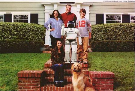 Honda Robot Ad